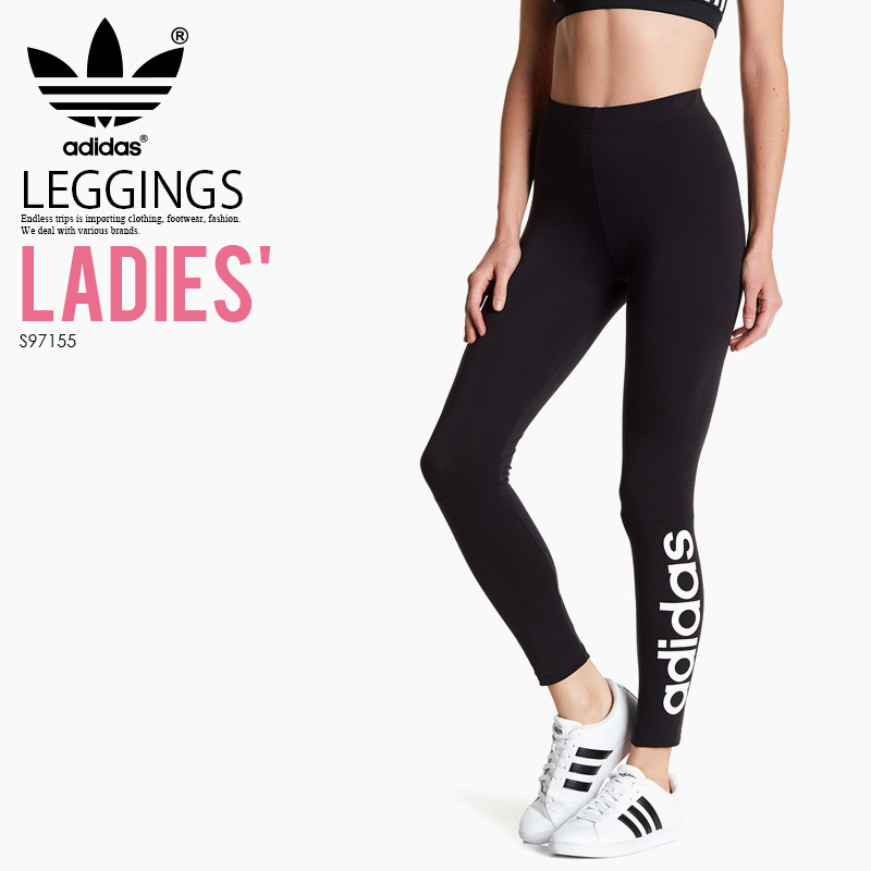 8286550d67f4b adidas (Adidas) ESSENTIALS LINEAR TIGHTS (ESS LIN TIGHT) (essential liner  tights ...