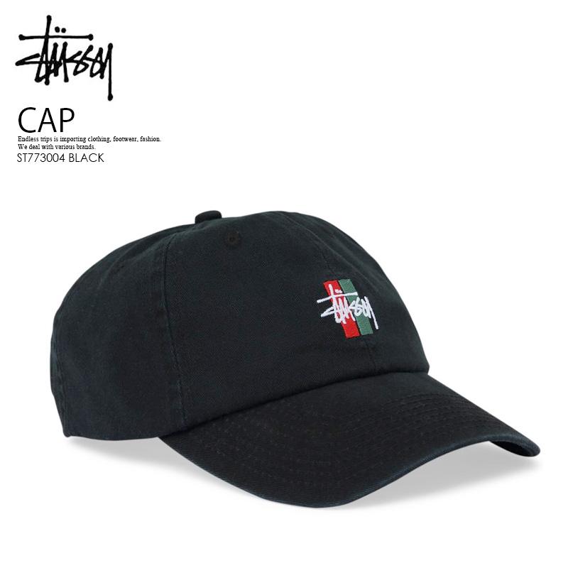 ad92fa44 STUSSY (ステューシー) BARS LOGO LO PRO STRAPBACK CAP (Byrds logo pro snapback cap  ...