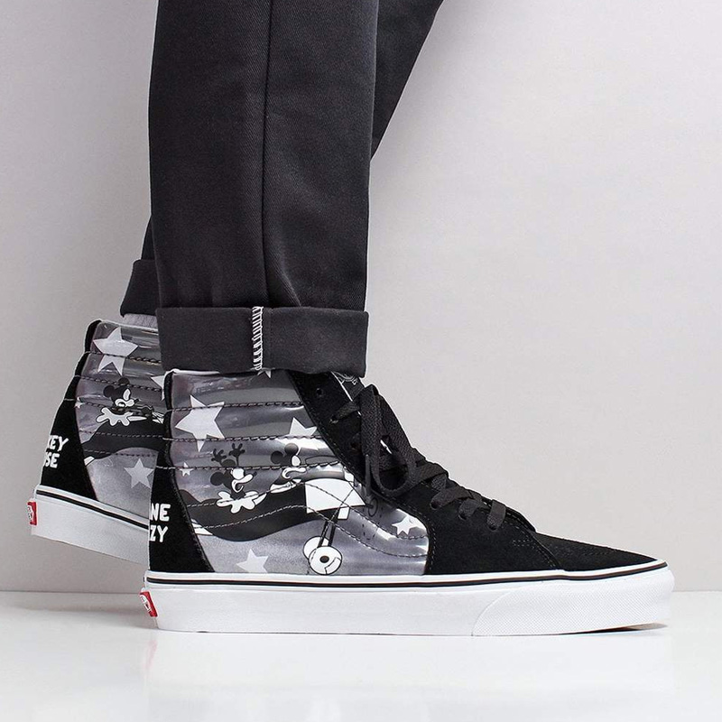 VANS (station wagons) DISNEY Disney SK8-HI REISSUE (skating high) vans  collaboration Mickey men sneakers higher frequency elimination (DISNEY)  PLANE ... b30f263f72