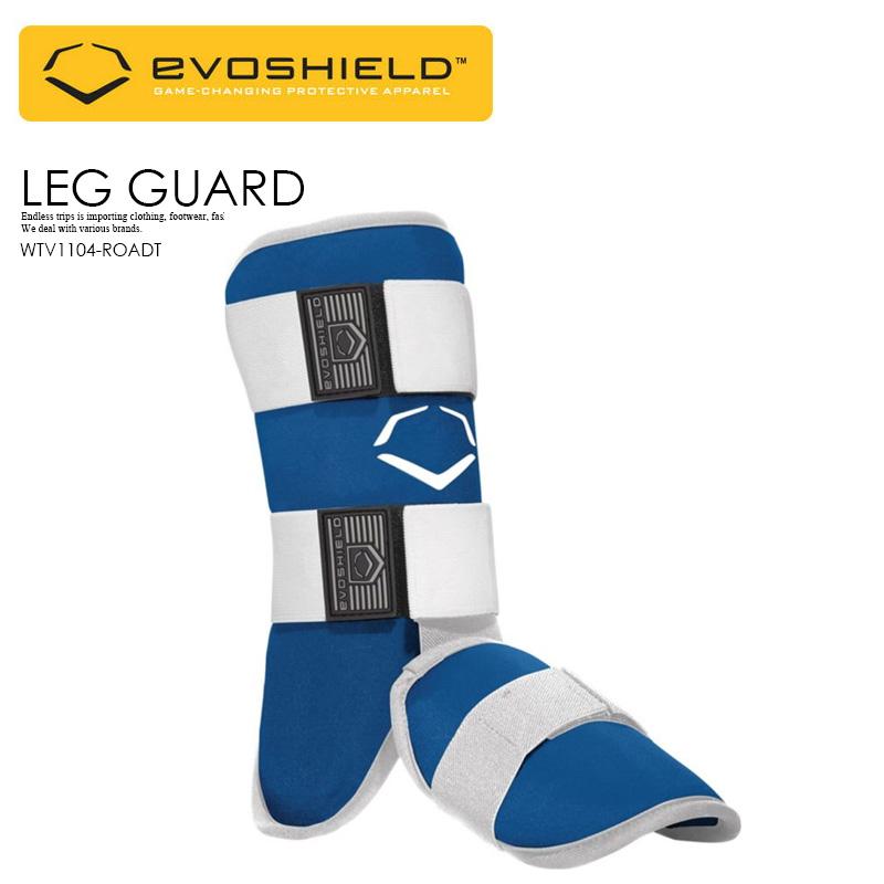 【日本未入荷! 希少! ユニセックス ベースボール レッグ ガード】 EVOSHIELD (エボシールド) SOLID BATTER'S LEG GUARD 野球 バッター用 フットガード スネ 甲 当て メンズ レディース ROYAL (ブルー) WTV1104-ROADT