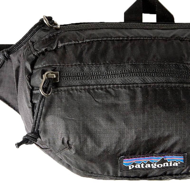 3d991afacfc607 patagonia (Patagonia) LIGHTWEIGHT TRAVEL MINI HIP PACK (lightweight travel  mini-hips pack) bum-bag body bag outdoor bag BLACK (black) 49446 endless  trip ...
