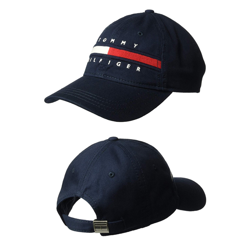 dc9995e88 TOMMY HILFIGER トミーヒルフィガーローキャップカーブキャップ DAD HAT AVERY BASEBALL CAP baseball  cap 6941821 416 (navy) / 6941821 445 (navy red) / 6941821 462 (denim red)  ...