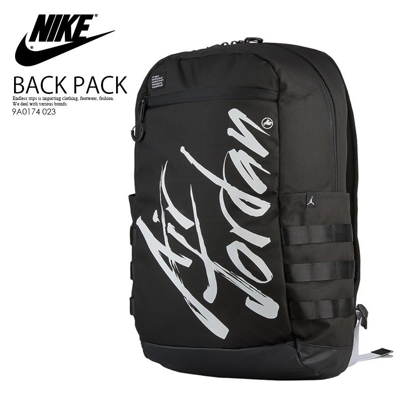 2b5e5e3f064 NIKE (Nike) JORDAN AIR JORDAN SCRIPT BACKPACK (Jordan Air Jordan script  backpack) ...