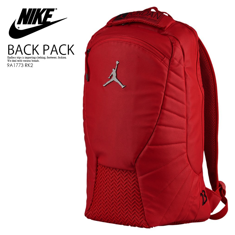 new concept b07d9 fd20f NIKE (Nike) JORDAN RETRO 12 BACKPACK (12 Jordan nostalgic backpacks) men s  lady s ...