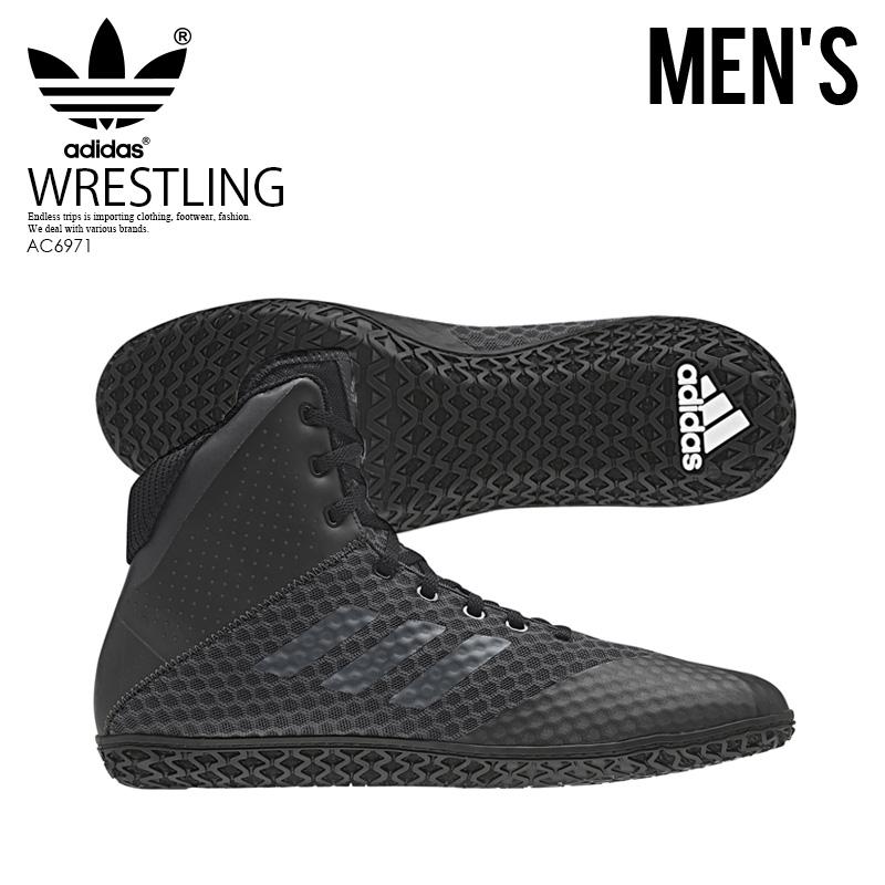 6866492b7ad674 adidas (Adidas) MAT WIZARD 4 (mat Wizard) WRESTLING SHOES boxing training  CARBON NGTMET CBLACK (carbon black) AC6971 ENDLESS TRIP ENDLESSTRIP end  rest lip