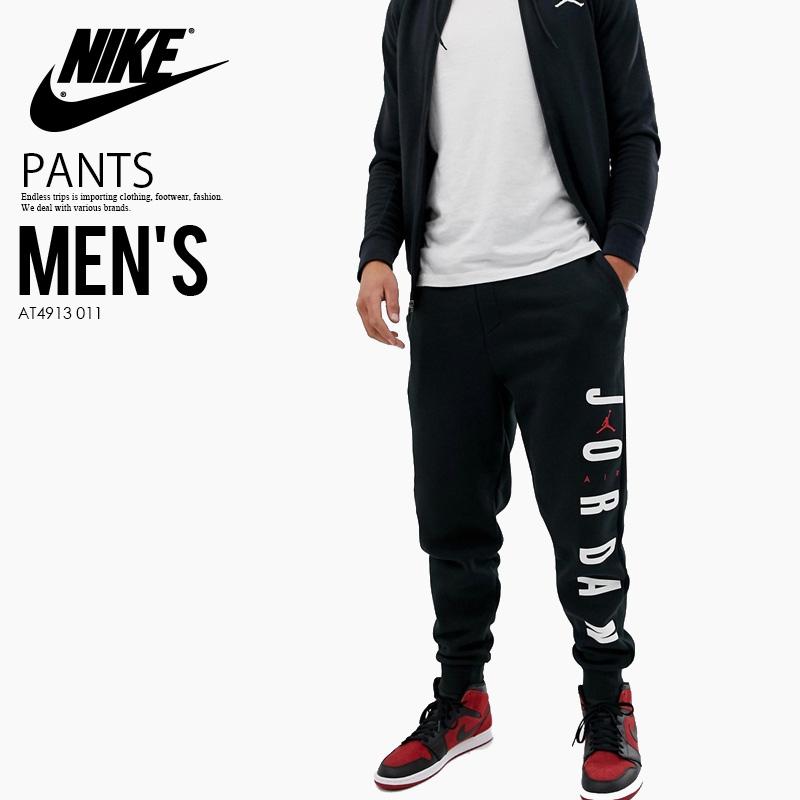 c0fe69001809a0 NIKE (Nike) JORDAN JUMPMAN AIR FLEECE PANT (Jordan jump man air fleece  underwear) MENS jogger underwear jersey BLACK GYM RED (black   red) AT4913  011 ...