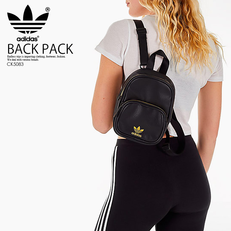 ENDLESS TRIP  adidas (Adidas) MINI PU LEATHER BACKPACK (mini-PU ... e9f3170b4100d