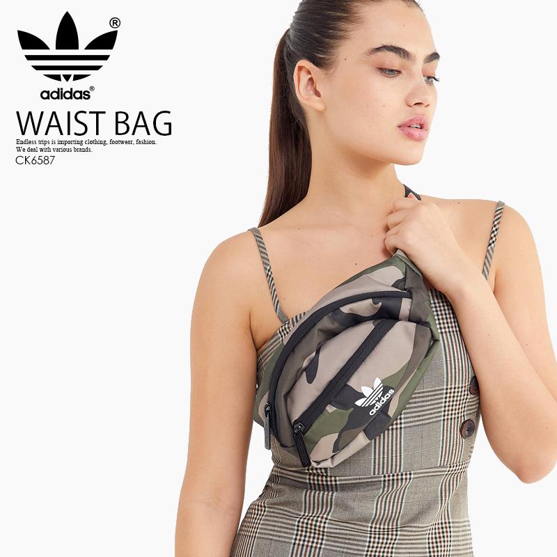 adidas (아디다스) NATIONAL WAIST PACK (내셔널 웨스트 팩) 웨스트