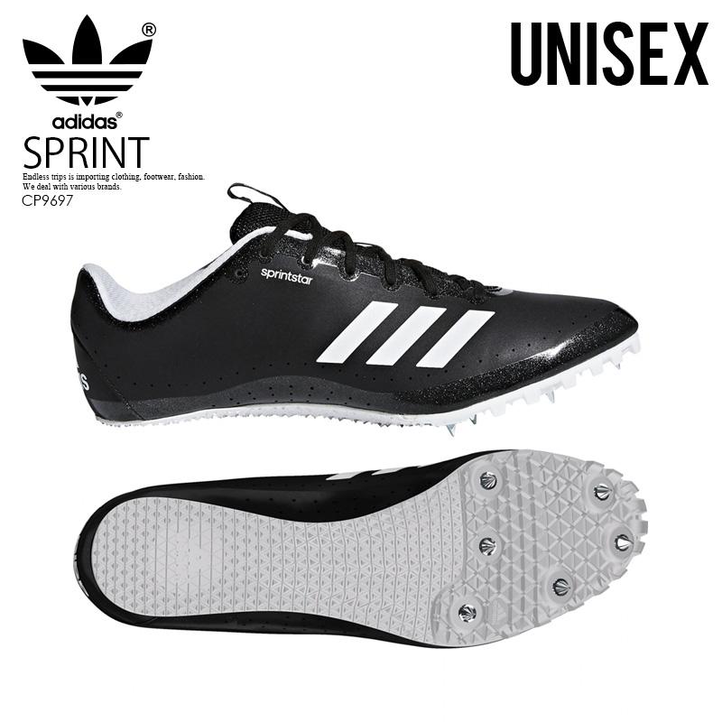 more photos 9a784 0d7c8 adidas (Adidas) SPRINTSTAR (sprint star) mens ladys sprint spikes  sprinter short distance Core BlackOrangeFtwr White (black) CP9697 ENDLESS  TRIP ...