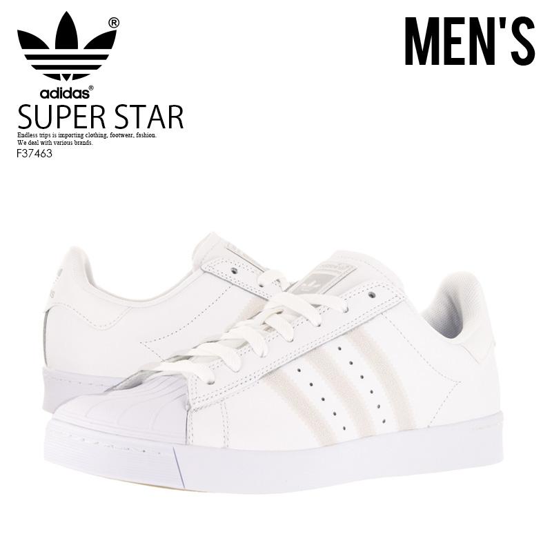 outlet store 85b59 82fb1 adidas(愛迪達)SUPERSTAR VULC ADV(大明星溜冰登機)運動鞋溜冰鞋FTWWHT FTWWHT SILVMT(白 銀子)F37463
