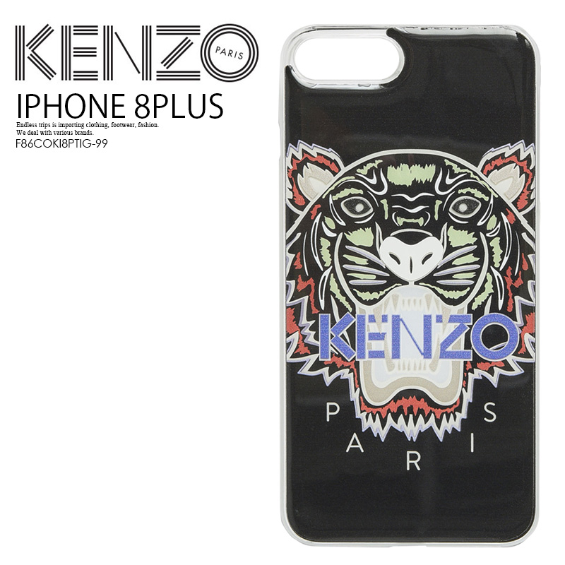 best website a4136 92710 KENZO (Kenzo) IPHONE 8 PLUS TIGER CASE (tiger iphone 8plus case) iphone  case smartphone case eyephone 8 PLUS BLACK (black) F86COKI8PTIG-99 ENDLESS  ...