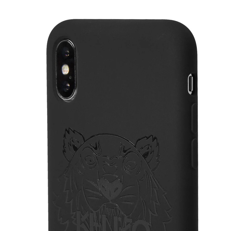 b10e54e3 KENZO (Kenzo) IPHONE X TONAL TIGER (eyephone X toe null tiger) iphone case  smartphone case eyephone ten iPhone iPhoneX BLACK (black) F95COKIFXTUV-99  ...