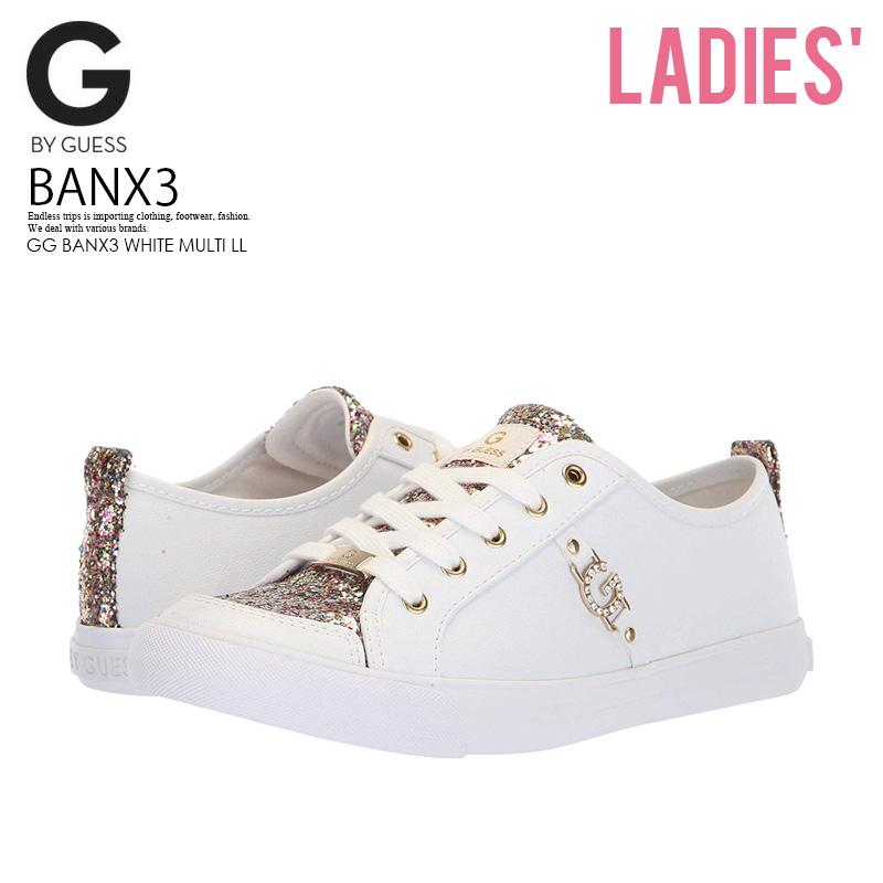 9fa1631b G by GUESS (ジーバイゲス) WOMENS BANX3 (Bankes 3) WOMENS women sneakers glitter  ...