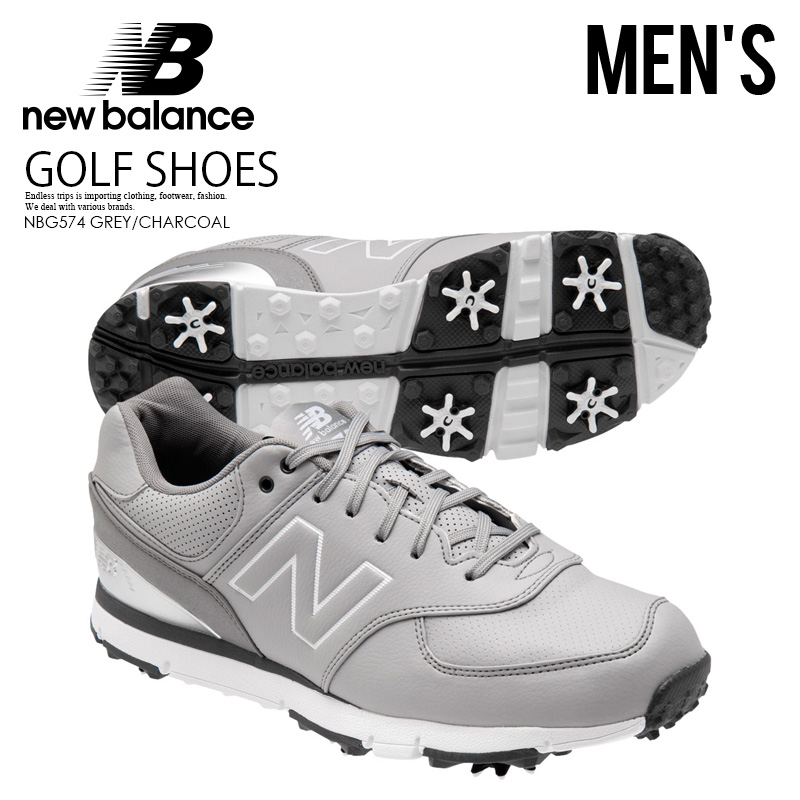 designer fashion 7e728 02a03 NEW BALANCE (New Balance) NBG574 (GREY/CHARCOAL) 574 NBG574GRC gray /  charcoal men size golf (slightly wide | 2E= average | 4E= slightly rather  thin ...