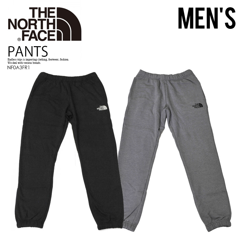 f6c1aa3d3 THE NORTH FACE (North Face) MEN'S NEVER STOP PANT (never stop underwear)  bottoms sweat shirt NF0A3537GVD (gray) NF0A3537KY4 (black)