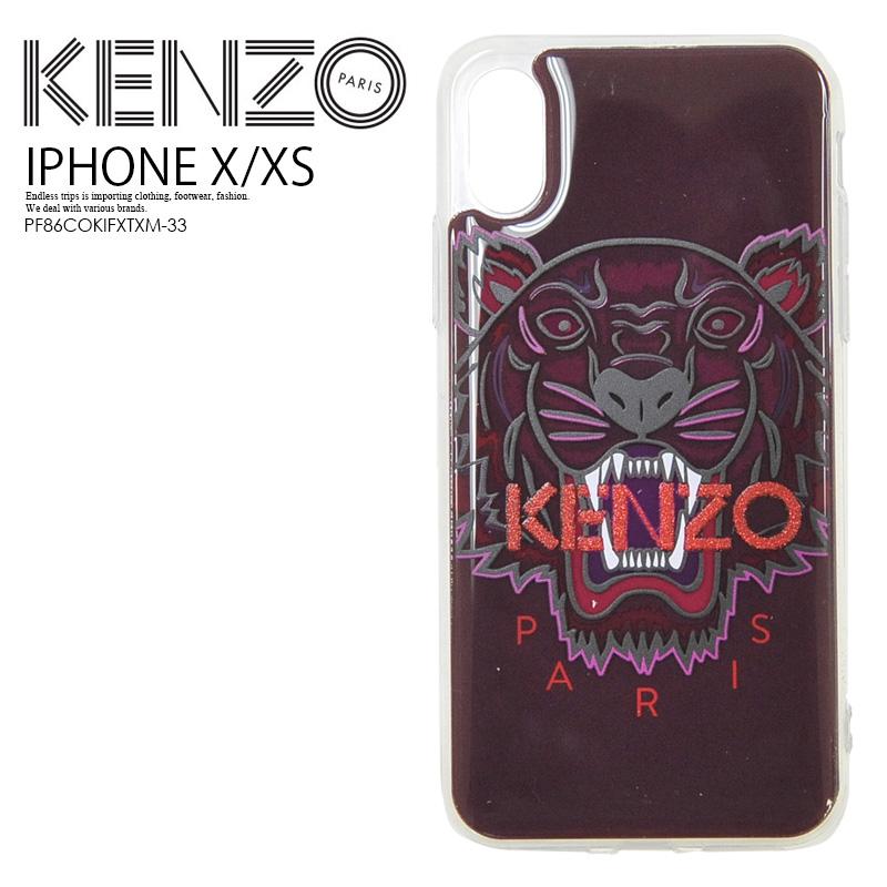 34d5a5876e KENZO (Kenzo) IPHONE X/XS TIGER CASE (tiger iphone X/XS case) iphone case  smartphone case eyephone X eyephone XS iPhone X XS PINK (pink) ...