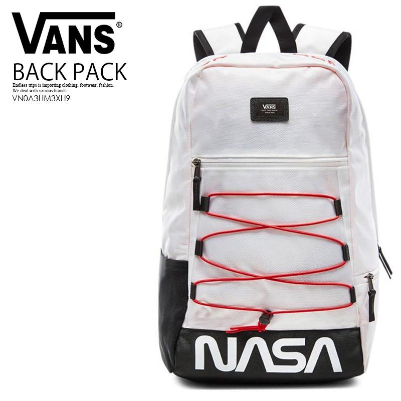 【日本未入荷!希少!ユニセックス バックパック】 VANS (ヴァンズ) VANS X NASA SPACE VOYAGER SNAG PLUS BACKPACK (バンズ ナサ スペース ボイジャー スナッグ プラス バックパック) リュック デイバッグ SPACE WHITE (スペース ホワイト) VN0A3HM3XH9