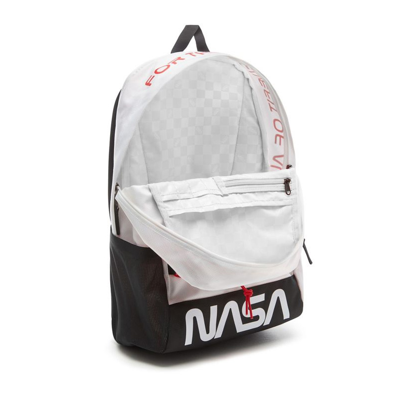 VANS (station wagons) VANS X NASA SPACE VOYAGER SNAG PLUS BACKPACK (vans  NASA space Voyager snag plus backpack) rucksack D bag SPACE WHITE (space ...