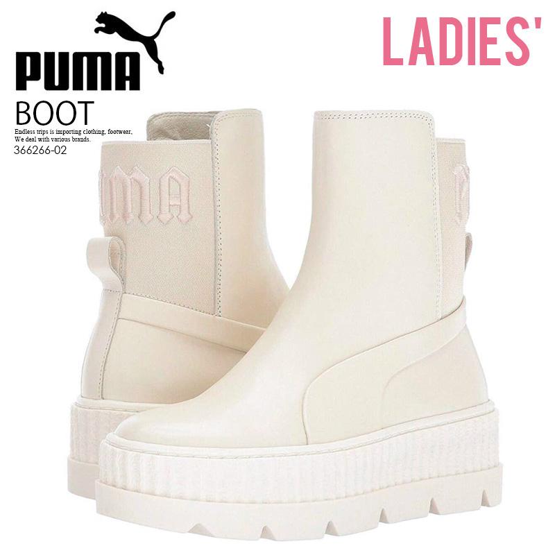 innovative design 7ce15 d9624 PUMA (Puma) FENTY BY Rihanna CHELSEA SNEAKER BOOT WOMENS  (フェンティバイリアーナチェルシースニーカーブーツ) thick-soled thick-soled sneakers ugly shoes ugly  sneakers leather ...