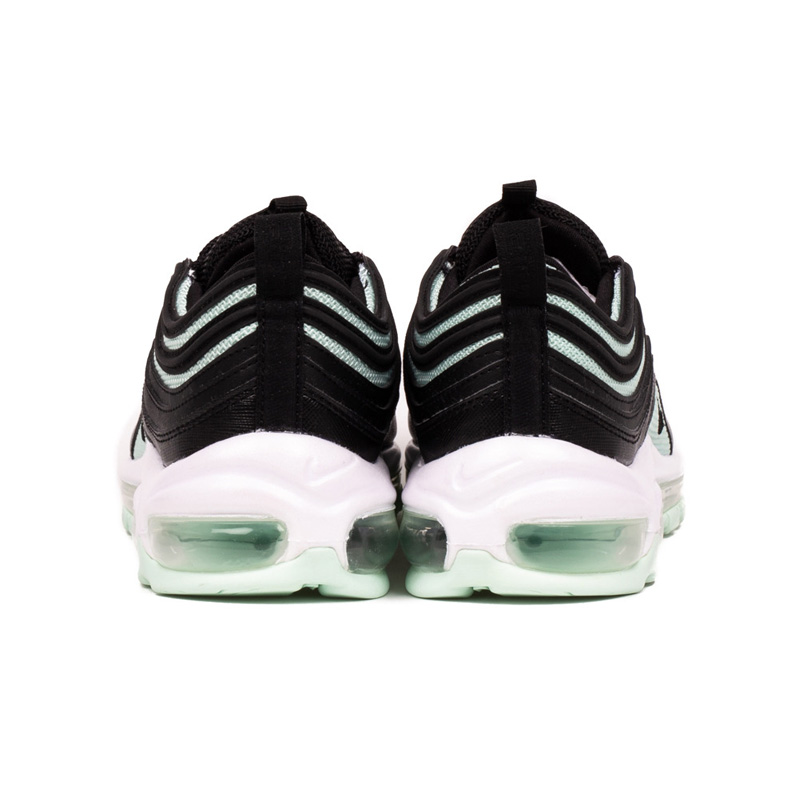 Sale Nike Air Max 97 Womens Igloo White Black Mint Gree