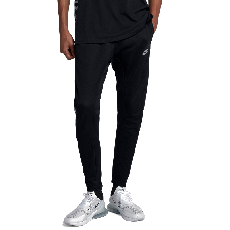 NIKE (Nike) SPORTSWEAR AIR MAX PANTS (sportswear Air Max underwear) MENS skinny pants jogger underwear BLACK (black) 931975 010 ENDLESS TRIP end rest