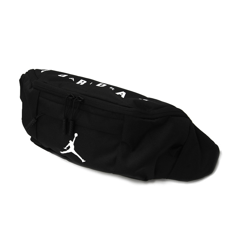 7c41cd764defec NIKE (Nike) JORDAN JUMPMAN CROSSBODY BAG (Jordan jump man crossbody bag)  men s lady s bum-bag body bag shoulder bag BLACK WHITE (black white) 9A0092  023 ...