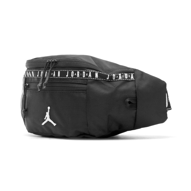 dfd325b37300e3 NIKE (Nike) JORDAN TAPING CROSSBODY BAG (Jordan taping crossbody bag) men s  lady s bum-bag body bag shoulder bag BLACK (black) 9A0133 023 ENDLESS TRIP