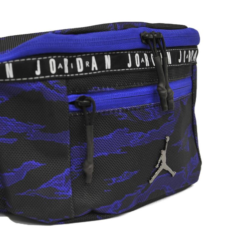 cc992ad458b031 NIKE (Nike) JORDAN TAPING CROSSBODY BAG (Jordan taping crossbody bag) men s  lady s bum-bag body bag shoulder bag BLACK CONCORD TIGER CAMO (black  Concord ...