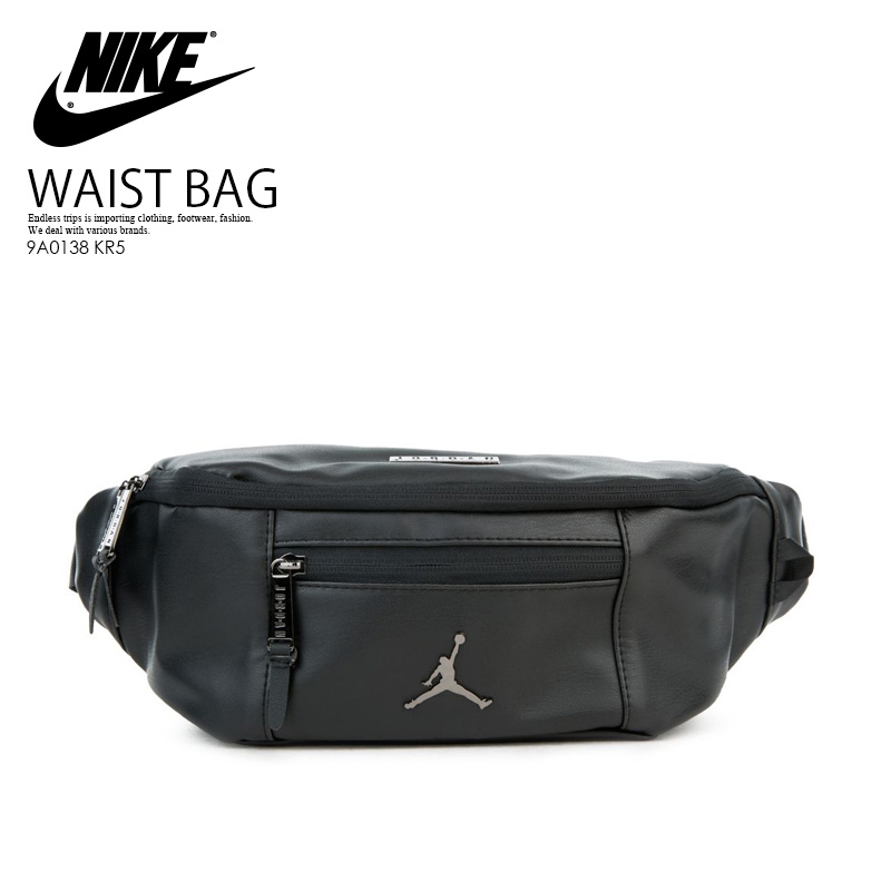 934dbfb1daa03c NIKE (Nike) JORDAN REGAL AIR CROSSBODY BAG (Jordan Regal air crossbody bag)  men s lady s bum-bag body bag shoulder bag BLACK GYM RED METALLIC GYM RED  ...