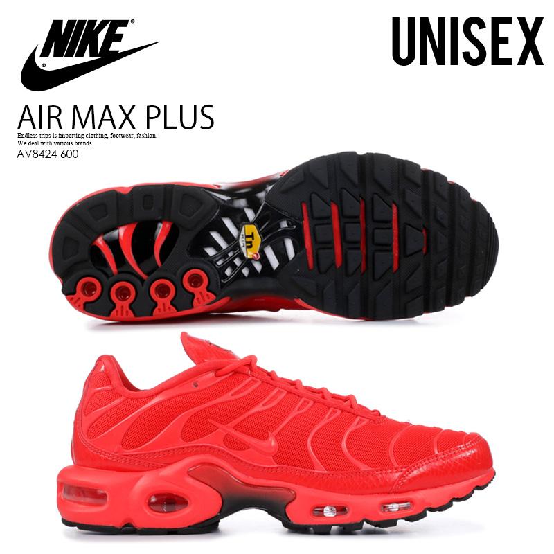 best website a679e 448a7 NIKE (Nike) WOMENS AIR MAX PLUS (Air Max plus) sneakers men gap Dis LT  CRIMSON/BLACK-WHITE (red / black) AV8424 600