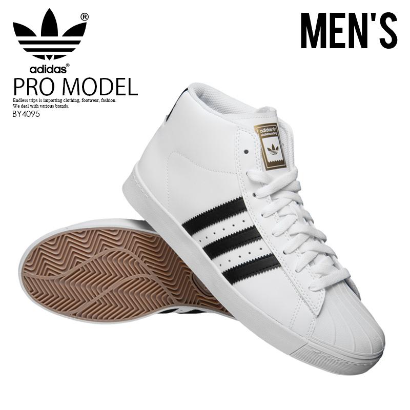 adidas (Adidas) PRO MODEL VULC ADV (professional model) MENS sneakers shoes WHITECORE BLACKGOLD MET (white black) BY4095 ENDLESS TRIP ENDLESSTRIP