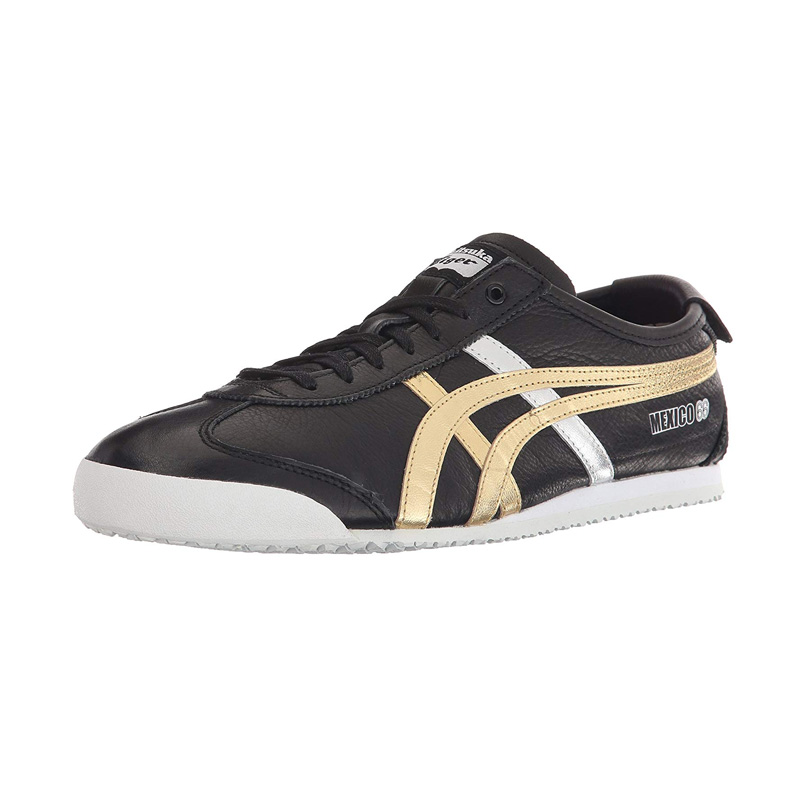 onitsuka tiger mexico 66 black red gold