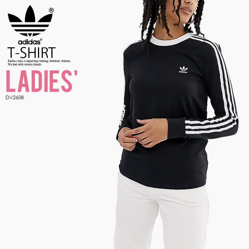 0e7fec04 adidas (Adidas) WOMENS 3-STRIPES LONG SLEEVE TEE (3STRIPES LS) ...