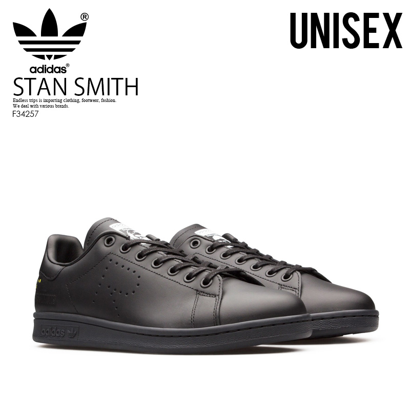 check out 63b87 33471 Rakuten supermarket SALE! adidas (Adidas) RAF SIMONS X STAN SMITH (rough  Simmons Stan Smith) men's lady's sneakers collaboration  CBLACK/DGSOGR/CWHITE ...