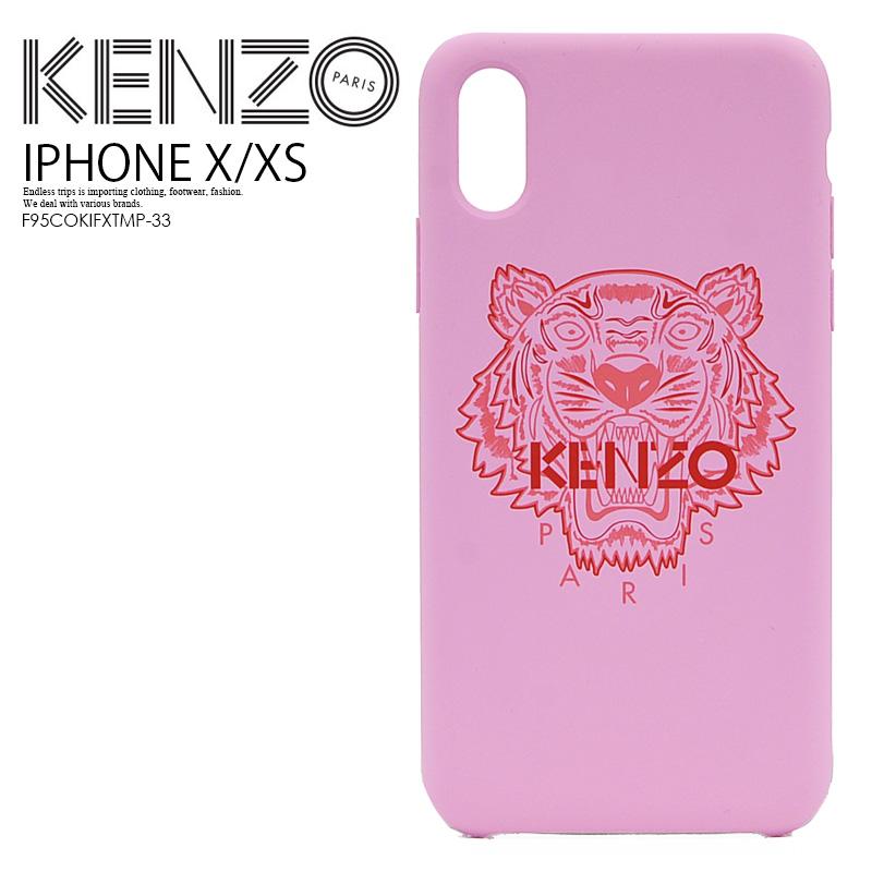 【日本未入荷! 希少!】 KENZO(ケンゾー) IPHONE X/XS TIGER CASE (タイガー iphone X/XS ケース) iphoneケース スマホケース アイフォンX iPhone X XS PASTEL PINK (パステル ピンク) F95COKIFXTMP-33 ENDLESS TRIP ENDLESSTRIP