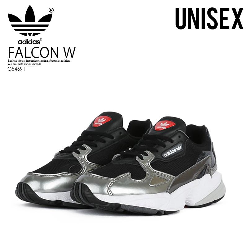 adidas (아디다스) FALCON W (파르콘) 잣드슈즈스니카 CBLACK/CBLACK