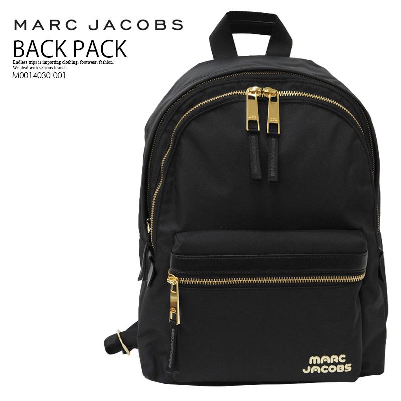 【入手困難! 大人気!】 MARC JACOBS (マーク ジェイコブス) TREK PACK LARGE BACKPACK (トレック パック ラージバックバッグ) リュック デイバッグ BLACK (ブラック) M0014030-001 ENDLESS TRIP