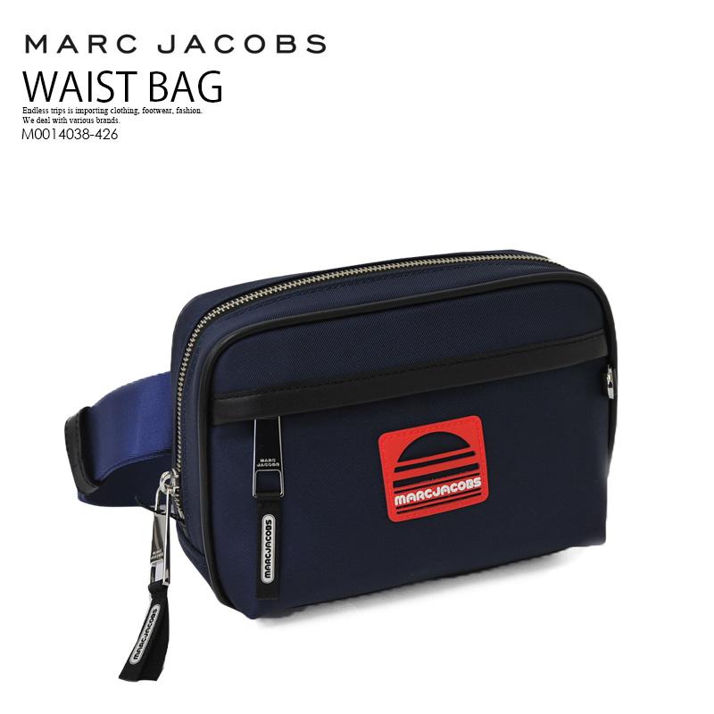 【希少! 大人気!】 MARC JACOBS (マーク ジェイコブス) SPORT BELT BAG (スポーツ ベルト バッグ) ウエストバッグ ボディバッグ ショルダーバッグ BLUE SEA (ブルー) ネイビー M0014038-426 ENDLESS TRIP