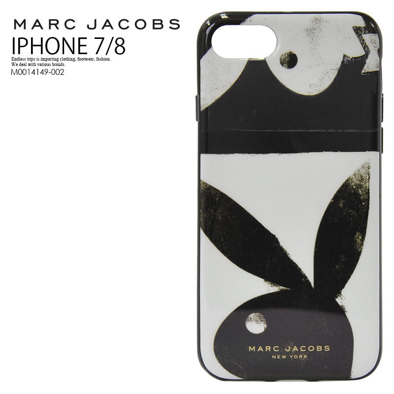 sports shoes 72a4a fc356 MARC JACOBS (mark Jacobs) PLAYBOY IPHONE 8 CASE (playboy iphone8 case)  iphone case smartphone case whole pattern eyephone 7/8 iPhone 7/8-adaptive  ...