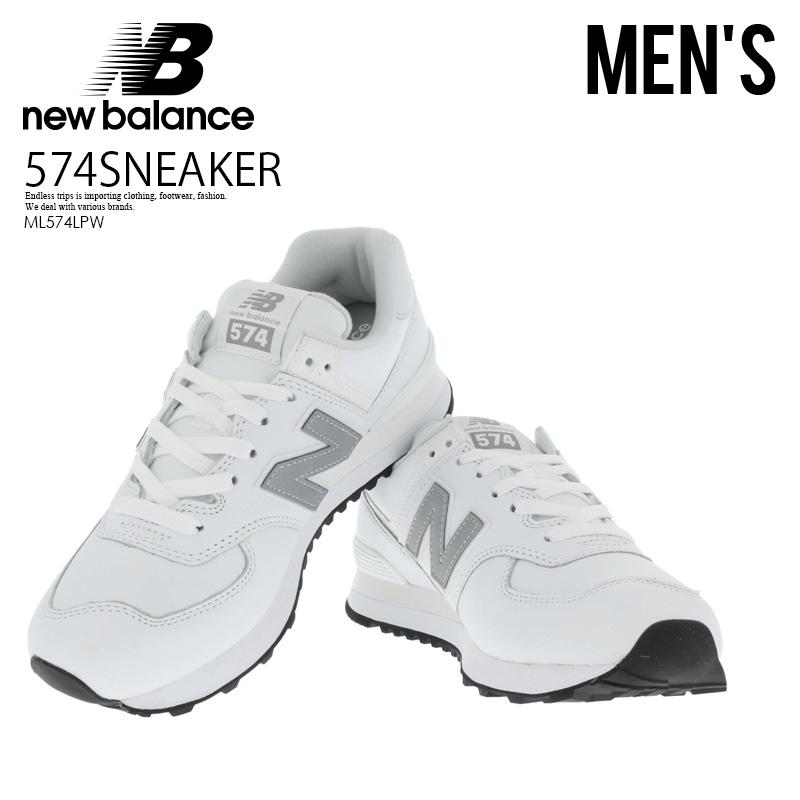 ENDLESS TRIP: NEW BALANCE (New Balance) 574 SNEAKER WHITE