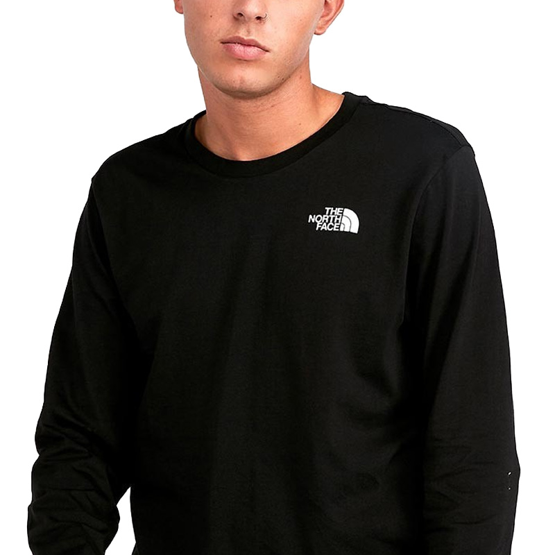 THE NORTH FACE (North Face) LONG SLEEVE EASY TEE (Longus Reeve easy T shirt) men's lady's cut and sew tops TNFBSTCKRBMBPT (black) T92TX1YLG end rest