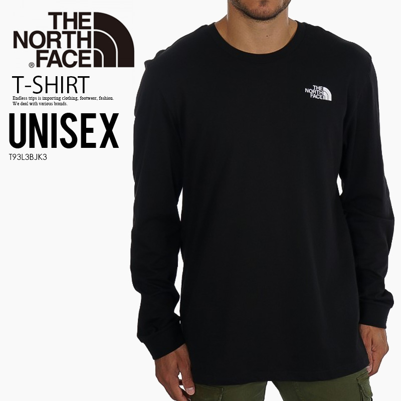 5127c046f THE NORTH FACE (North Face) SIMPLE DOME LONG SLEEVE TEE (simple dome Longus  Reeve T-shirt) men's lady's cut-and-sew tops TNF BLACK (black) T93L3BJK3 ...