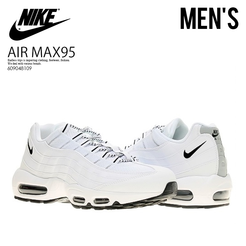 ltd online: OUTLET NIKE AIR MAX 95 whtblk blk 609,048 109