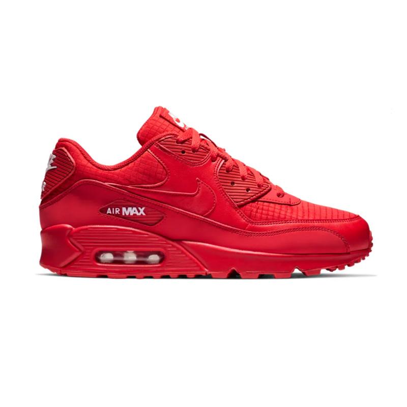 NIKE (Nike) AIR MAX 90 ESSENTIAL (Air Max 90 essential) sneakers UNIVERSITY RED WHITE (red white) AJ1285 602 ENDLESS TRIP ENDLESSTRIP end rest lip