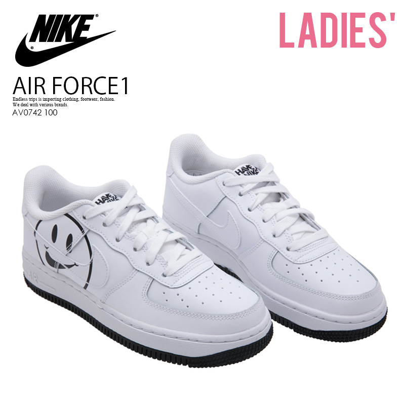 bf07af45b5404 ENDLESS TRIP: NIKE (Nike) AIR FORCE 1 LV8 2 GS (Air Force One) kids ...