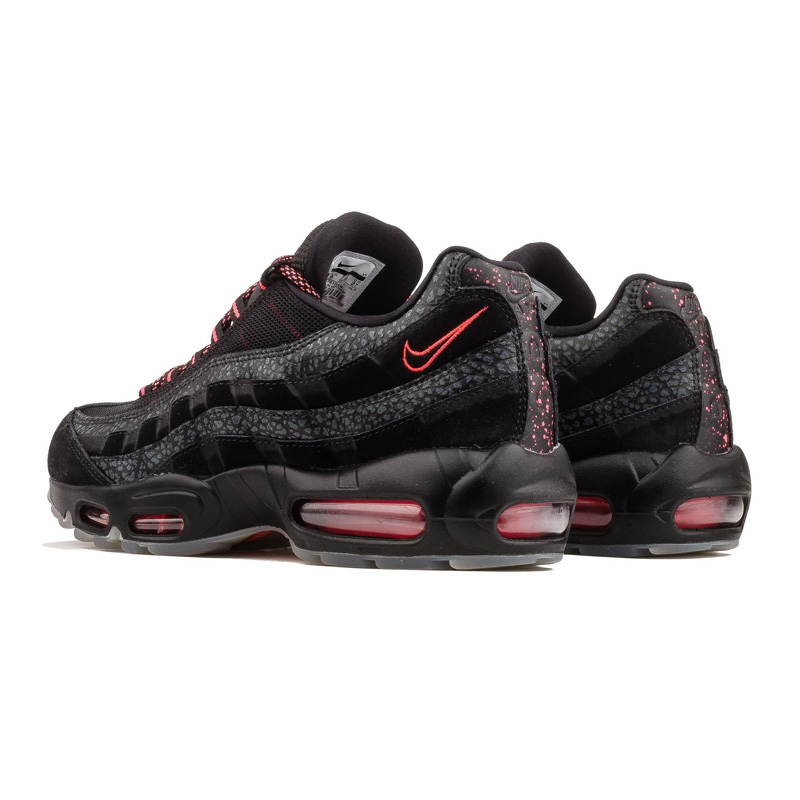cheap for discount 636cb 2dcb4 NIKE (Nike) AIR MAX 95 WE (Air Max 95) sneakers men gap Dis BLACK/INFRARED  (black / infrastructure red) fluorescence pink AV7014 001