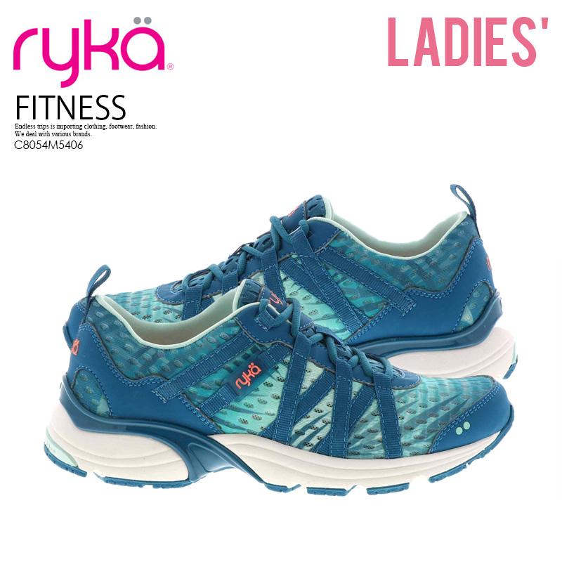 RYKA (Leica) HYDRO SPORT (hydrosports) women Sudan's exercise shoes fitness aqua fitness sneakers BLUE MSH (blue mesh) C8054M5406 ENDLESS TRIP