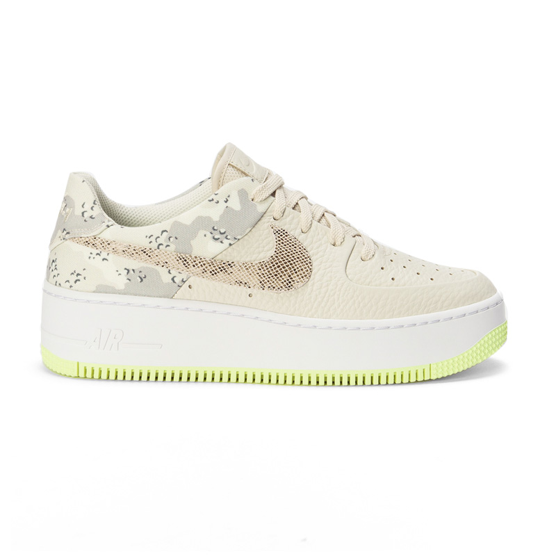 the latest 72c59 9876b NIKE WOMENS AIR FORCE 1 SAGE LOW PREMIUM (air force 1 sage low premium)  sneakers LT OREWOOD BRN/MOOM PARTICLE (beige) CI2673 101 ENDLESS TRIP