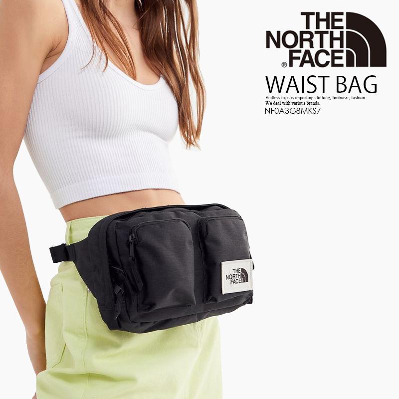 8608a8db3 THE NORTH FACE (North Face) KANGA WAIST PACK (khanga bum-bag) bum-bag body  bag shoulder bag men gap Dis TNF BLACK HEATHER (black) NF0A3G8MKS7 end rest  ...