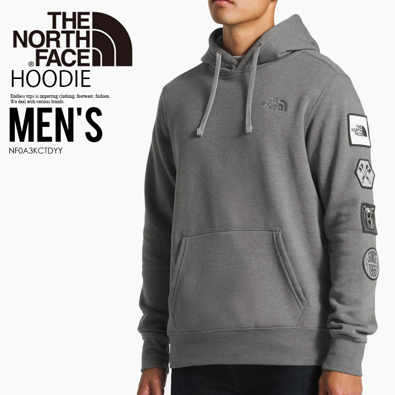 b78eed92f THE NORTH FACE (North Face) URBAN PATCHES PULLOVER HOODIE  (アーバンパッチズプルオーバーフーディ) men's lady's parka tops TNF MEDIUM ...
